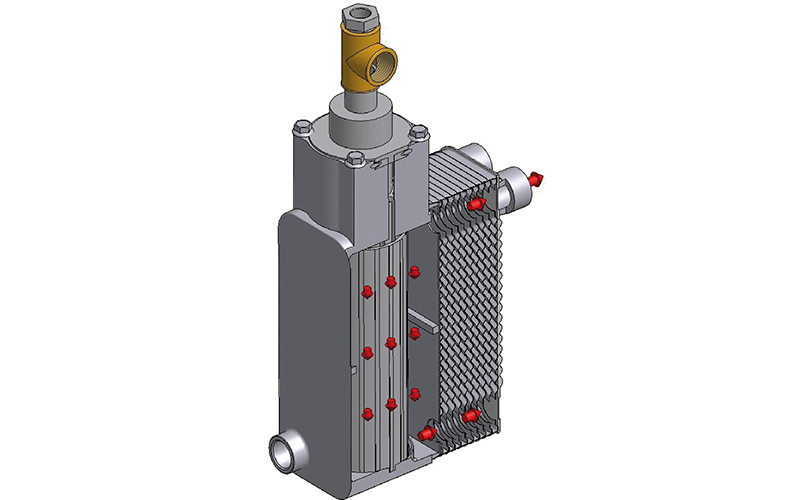 Illustration Of Part Of A 3FLOW Series Temperature Control Unit